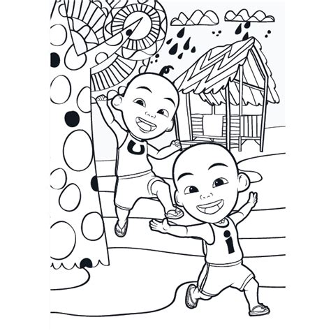 upen ipin  coloring pages