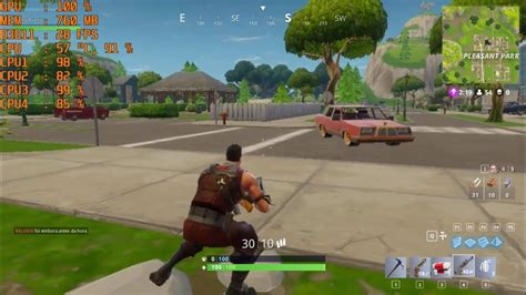 fortnite intel teste fortnite battle royale na intel hd graphics fps