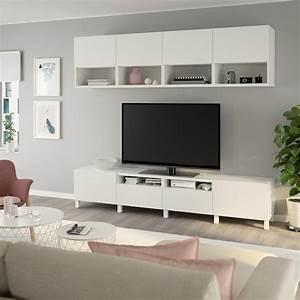 Ikea Besta Schublade : best tv storage combination white lappviken stubbarp white ikea ~ Watch28wear.com Haus und Dekorationen