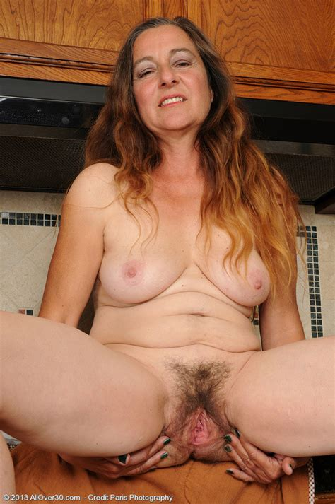 Year Old Nicola Breaks From Housework To Spread Hairy