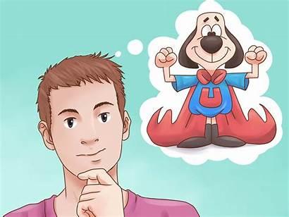 Character Create Cartoon Own Imagination Wikihow Step