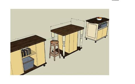 kitchen island woodworking plans kitchen island cart blueprints woodworking projects plans