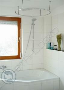 Duschvorhangstange Für Badewanne : vollkreis duschvorhangstange als ring gebogen f r dusche und badewanne ~ Markanthonyermac.com Haus und Dekorationen