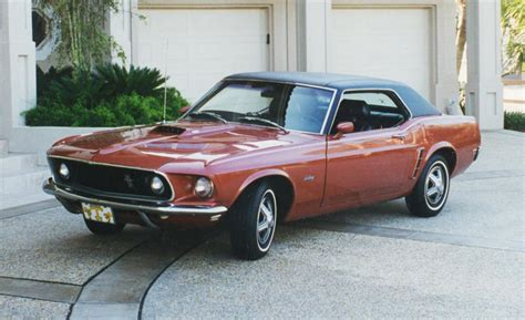 1969 Ford Mustang Hardtop Coupe 24298