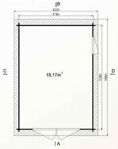 Garage Bois 20m2 : kit garage en bois sans permis de construire toit plat ~ Melissatoandfro.com Idées de Décoration