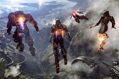 Mass Effect Wall Paper Ea And Bioware Announce Anthem Gematsu