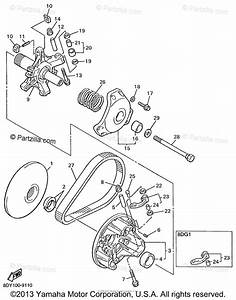 Yamaha Snowmobile 1999 Oem Parts Diagram For Primary