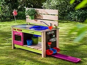 Waschbecken Für Draußen Garten : so bauen sie eine kinderk che f r den garten ratgeber bauhaus ~ Orissabook.com Haus und Dekorationen