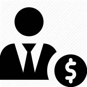 Dealer, financier, investor, money, tycoon icon   Icon ...
