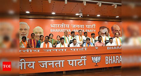 BJP workers protest over induction of TMC MLA into party ...