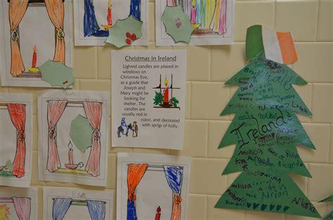 christmas around the world ireland holiday ideas for school irish christmas holidays around