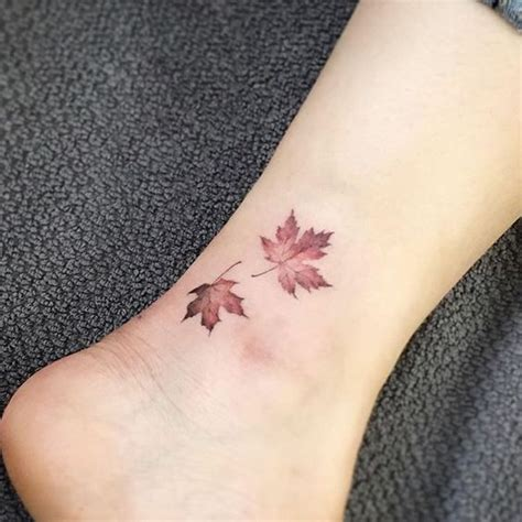 Beautiful Small Ankle Tattoos