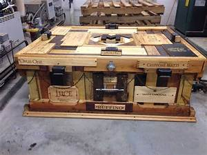 Unbelievable Outdoor Pallet Coffee Table • 1001 Pallets