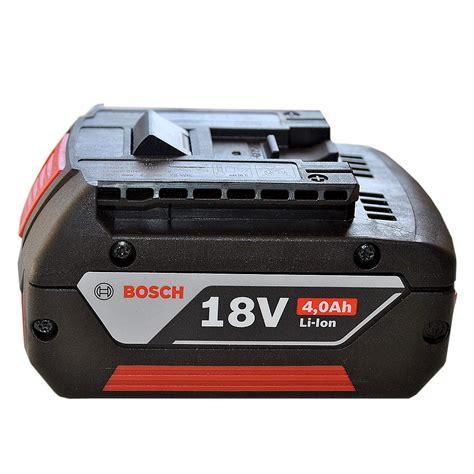 bosch akku 18v 4ah batterie 18v 4 0ah li ion bosch 1600z00038 debonix