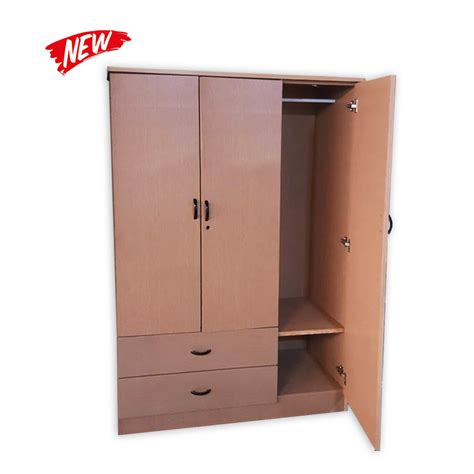 Second Cupboard Doors by 3 Door Cupboard With Drawers Kaki Lelong Everything