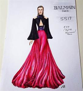 fashion illustration #designer #runway | Haute ≈ Elegance ...