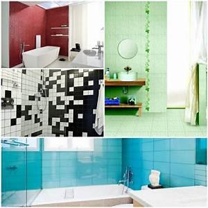 Badezimmer Fliesen Streichen : fliesenfarbe passend aussuchen oder selber streichen ~ Markanthonyermac.com Haus und Dekorationen