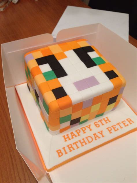 stampy cat cake deco ideas cake minecraft birthday