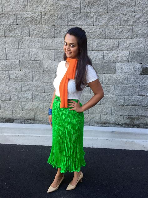 Indian Flag Colors Inspired Outfit Ananya Tales