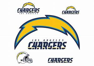 Los Angeles Chargers Logo Wall Decal Shop Fathead® for