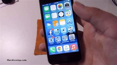 iphone 5s factory reset apple iphone 5s 32gb reset factory reset password