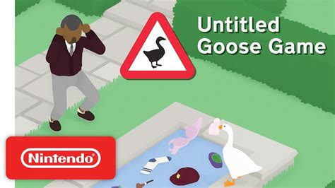 Untitled Goose Game untitled goose game teaser trailer nintendo switch 1280 x 720 · jpeg