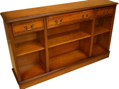Buy Low Bookcase by Westminster Collection 3 Drawer Open Low Bookcase