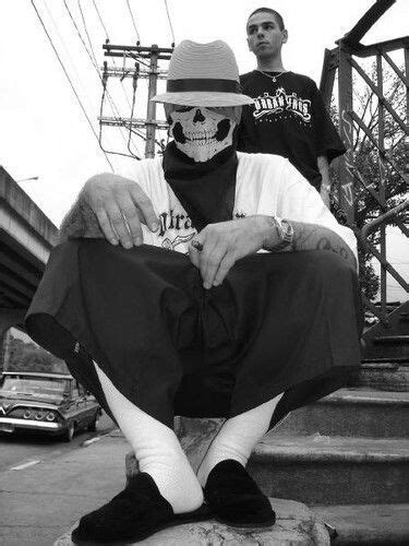 Skull Gangstah (With images) | Chicana style