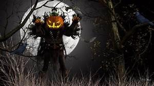 Pumpkin Monster Halloween wallpaper | other | Wallpaper Better
