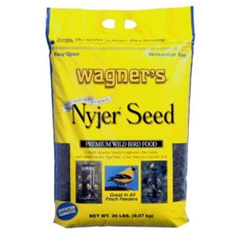 wagner s 20 lb nyjer seed wild bird food 62053 the home
