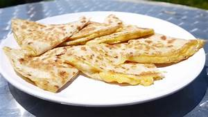 Basic Cheese Quesadilla - College Recipes | College Recipes