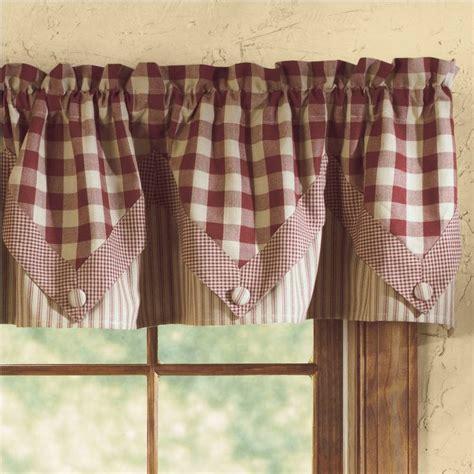 country plaid kitchen curtains country curtains plaid valances curtain menzilperde net 6195