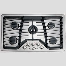 """Ge Profile Series Pgp986setss 36"""" Gas Cooktop  Stainless Steel"""