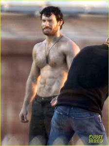 Full Sized Photo of henry cavill shirtless greenscreen 02 ...