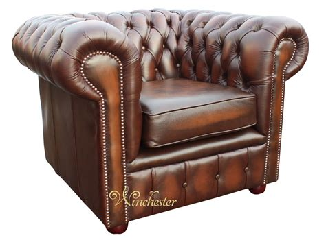 chesterfield low back club armchair antique brown