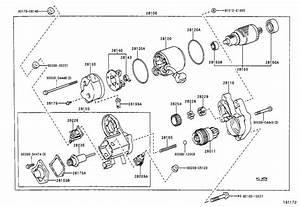 Toyota 4runner Clamp  Starter Motor Lead Wire