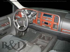 Chevy Silverado Wood Grain Dash Kit Fits 2010