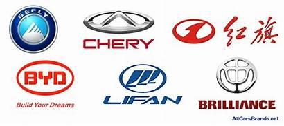 Chinese Brands Cars Manufacturer Logos Makes Market