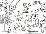 Circus Coloring Pages Ringmaster Getcolorings Circu Getdrawings sketch template