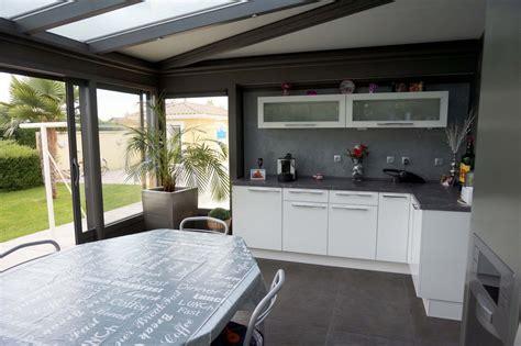 cuisine veranda photos cuisine dans véranda extension de cuisine par une véranda
