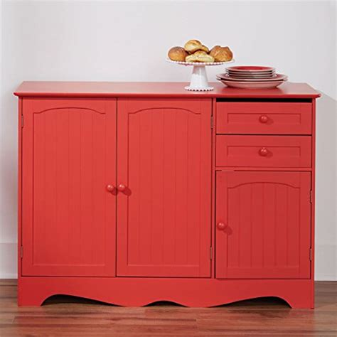 Country Kitchen Buffet Levittown by Brylanehome Country Kitchen Buffet Paprika 0 Kitchen Carts
