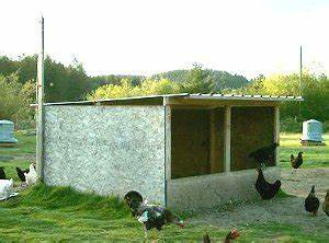 The Ideal Roof for a Chicken Coop.   Practical Poultry Tips