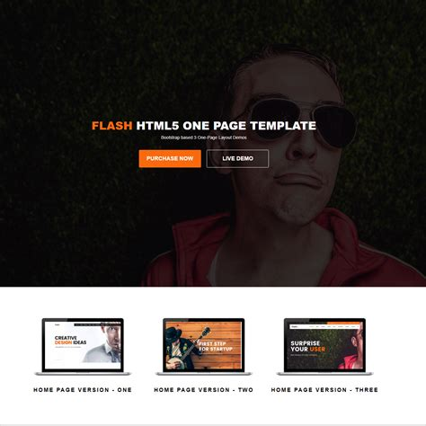 Themes Html 33 Awesome Free Html5 Bootstrap Templates 2018
