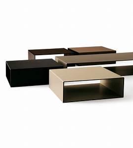 Table Basse Cuir : moore ivano redaelli table basse en cuir milia shop ~ Teatrodelosmanantiales.com Idées de Décoration