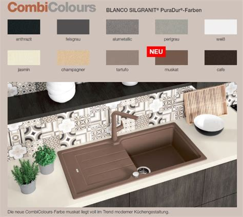 Farben Blanco Silgranit 2017 Spülenshop