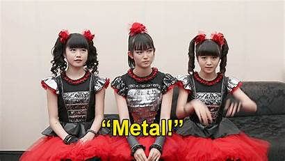 Metal Band Woman Babymetal Rock Japanese Pit