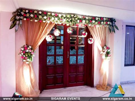 Decorating Ideas And Pictures by Wedding And Reception Door Entrance Decorations In