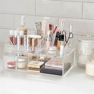 Acrylic Makeup Organizer  Large Acrylic Makeup Organizer