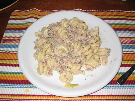 cuisine boursin pasta met tonijn en boursin cuisine recept smulweb nl