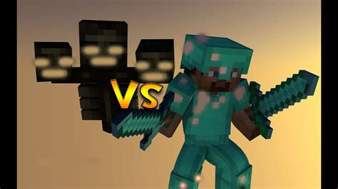 steve  wither minecraft youtube